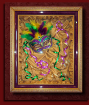ppfa framing competition mask shadowbox
