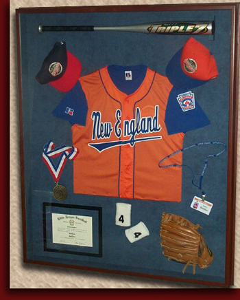 shadowbox object framing jersey