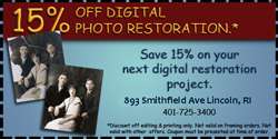 coupon digital photo restoration 15% off