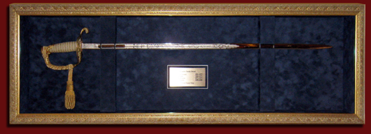 military sword shadowbox