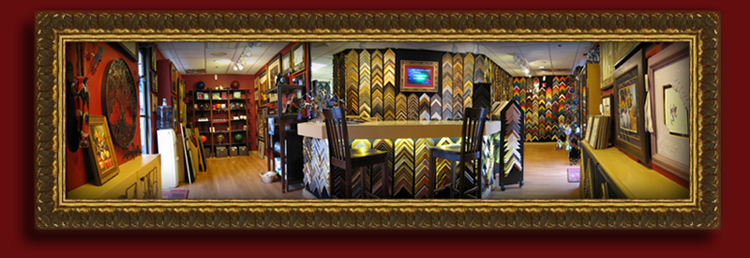 framed panoramic picture of shop 750dpi