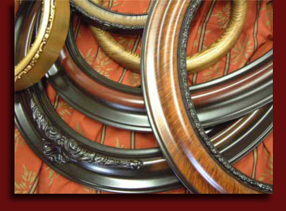 Oval And Round Picture Frames From Get The Picture In Ri