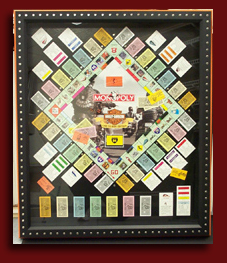 shadowbox frame monopoly game